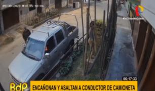 SMP: delincuentes armados asaltan a conductor al interior de su vehículo