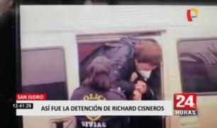 Así fue llegada de 'Richard Swing' a la Prefectura en el Cercado de Lima