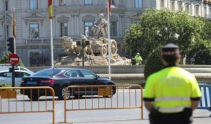 Cierran Madrid para disminuir segunda ola de contagios por COVID-19