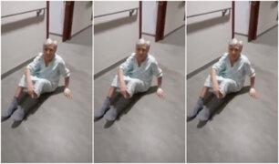 Trabajadora de asilo humilló a anciana y lo registró en video