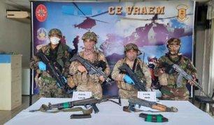 Región Cusco: capturan presunto narcotraficante tras enfrentamientos en la zona del Vraem