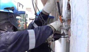 Puente Piedra: realizan operativo contra fábricas con conexiones eléctricas clandestinas