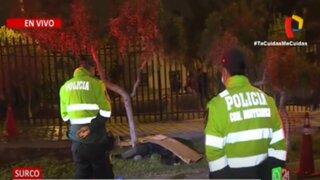Surco: Arrojan cadáver en Urbanización Los Álamos