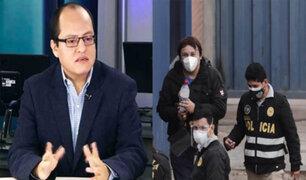 Quijada sobre detenciones del caso Swing: Es evidente los actos para obstruir a la justicia