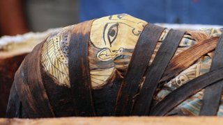 Egipto: 59 sarcófagos fueron hallados con sus momias intactas