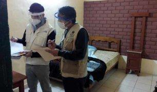 Verifican protocolos de bioseguridad  en distintos hospedajes del Cercado de Lima