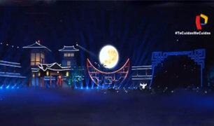 Comunidad china en el Perú celebra festividad de la luna