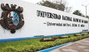 Congreso: citan a rector de UNMSM por denuncias de irregularidades en examen