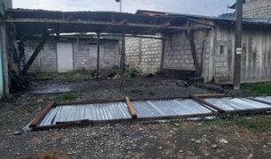 Fuertes vientos arrancan techos de decenas de viviendas en Puno