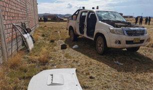 Conmoción en Juliaca: matan joven ingeniero y desmantelan su moderna camioneta