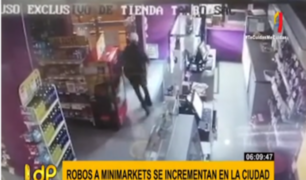 Aumentan robos a minimarkets en la capital