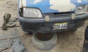 Puente Piedra: hallan 'cementerio' de autos gracias a GPS de vehículo robado