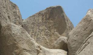 Ica: piden se declare Patrimonio Cultural de la Nación los petroglifos de Huancor