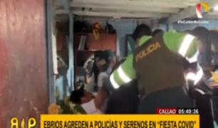 'Fiesta COVID' acabó con enfrentamientos y detenidos en el Callao