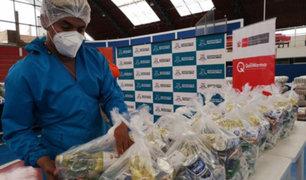 Midis: entregan más de 60 toneladas de alimentos para ollas comunes de Pachacámac