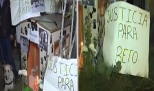 SMP: vecinos denuncian que sujeto mató de 8 puñaladas a perro y exigen justicia