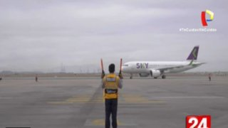 Aeropuerto Jorge Chávez: Así se reanudó los vuelos internacionales tras casi 7 meses de cierre de fronteras