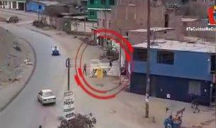 Así capturaron a dos delincuentes que intentaron asaltar botica en Puente Piedra