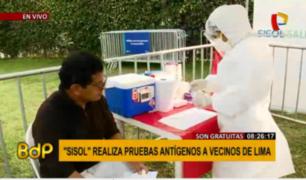 MML realiza pruebas gratuitas de antígenos para detectar COVID-19