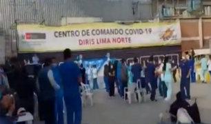 Los Olivos: personal de salud fue captado bailando en Centro de Comando Covid-19