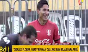 Selección peruana entrenó por noveno día antes de Eliminatorias