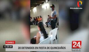 Tumbes: quinceañero clandestino fue intervenido por la Policía