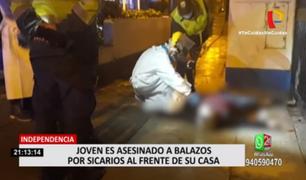 Independencia: sicarios asesinaron a joven por ajuste de cuentas, según la PNP