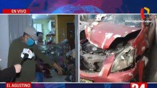 Una mujer que aprendía a manejar atropelló y mató a un bebé en El Agustino
