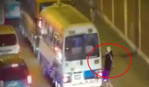 El Agustino: capturan a delincuentes que asaltaban a pasajeros y transeúntes