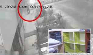 SMP: ladrones robaron mercadería valorizada en 180 mil soles