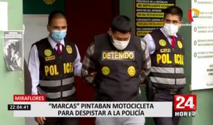 Miraflores: capturan a delincuentes implicados en peligrosos asaltos