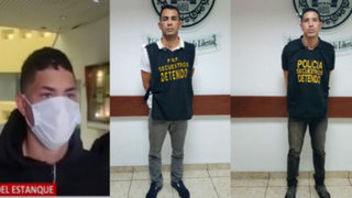Tras infernal balacera capturan banda de extranjeros en Surco