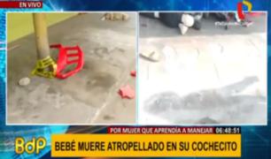 El Agustino: madre de bebé que murió atropellado permanece hospitalizada