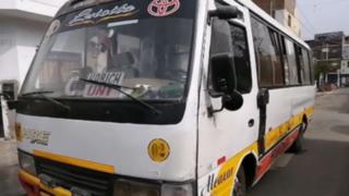 SMP: Policía abatió a delincuente que intentó asaltar cúster en la que viajaba