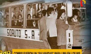 ¿Cómo se viajaba en el transporte público antes de las combis?