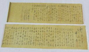 Hombre rompe valioso manuscrito valorizado en 250 millones de euros pensando que era falso