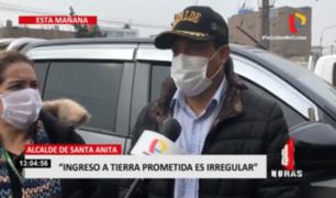 Santa Anita: alcalde negó oponerse a traslado de comerciantes a Tierra Prometida
