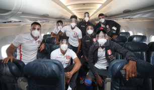 Eliminatorias Qatar 2022: Selección Peruana llegó a Paraguay