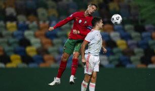 Portugal y España igualaron sin goles en amistoso de fecha FIFA