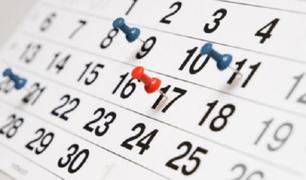 Se respetarán los feriados que quedan hasta fin de año, anunció el Gobierno