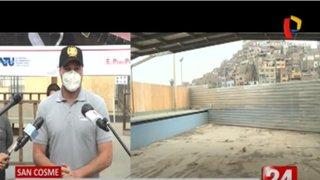 La Victoria: ATU inicia reubicación de Complejo Polideportivo San Cosme