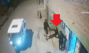 Delincuente armado asaltó a mujer frente a un niño en SMP