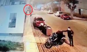 Repartidor de delivery es asaltado luego de dejar un pedido en Chorrillos