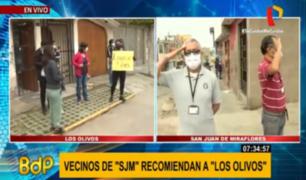 Vecinos de SJM y Los Olivos suman esfuerzos para frenar delincuencia