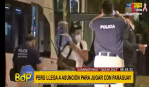 Perú vs. Paraguay: así fue la llegada de la Blanquirroja a Asunción