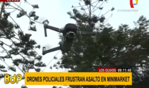 Los Olivos: drones se convierten en aliados de la policía contra delincuentes