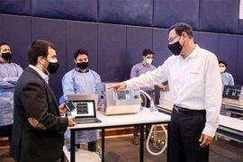 Ministerio de Salud recibió 150 ventiladores mecánicos fabricados en Perú