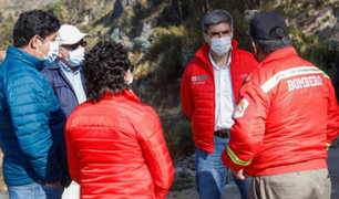 Cusco: Ministro Neyra afirma que incendio forestal no afectó el patrimonio arqueológico