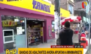 Minimarkets: el nuevo objetivo de la delincuencia