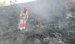 Cusco: incendio en parque arqueológico de Sacsayhuamán ya fue controlado
